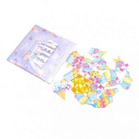 Melty Mellow Ice Cream Factory Stickers Sack