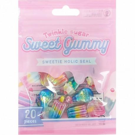 Sweet Gummy Stickers Sack