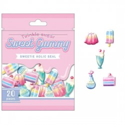 Saco Stickers Sweet Gummy