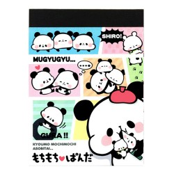 Mini Bloco Notas Mochi Panda Shiro