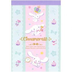Mini Bloco Notas Cinnamoroll Wonderland