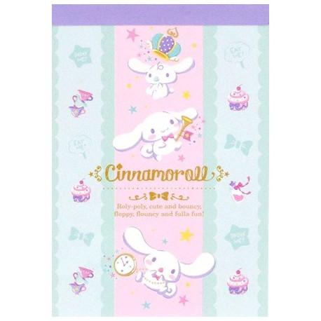 Mini Bloco Notas Cinnamoroll Wonderland