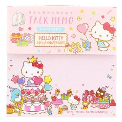Notas Adhesivas Hello Kitty 45th Anniversary