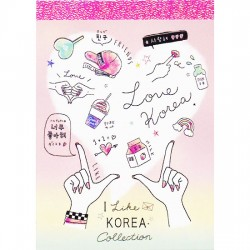 Love Korea Mini Memo Pad