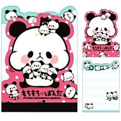 Mochi Panda Die-Cut Mini Memo Pad