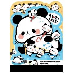 Mini Bloco Notas Die-Cut Mochi Panda