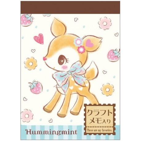Hummingmint Mini Memo Pad