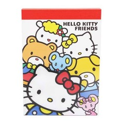 Mini Bloc Notas Hello Kitty Friends