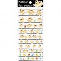 Mofu Mofu Eevee Pokéball 4 Size Stickers