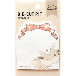 Post-Its Die-Cut Pit Mofu Mofu Eevee Bow