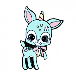Bambi Unicorn Enamel Pin