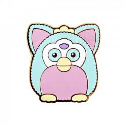 Pastel Furby Enamel Pin