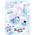 Carpeta Clasificadora Index Mochi Panda Blue