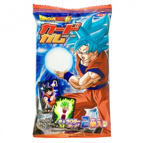 Pastilha Elástica Dragon Ball Super Card 3