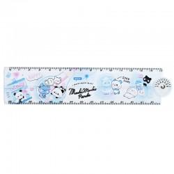 Mochi Panda Blue Folding Ruler
