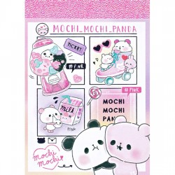 Mini Bloco Notas Mochi Panda Pink