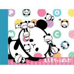 Bloco Notas Mochi Panda Lazy