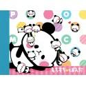 Lazy Mochi Panda Memo Pad