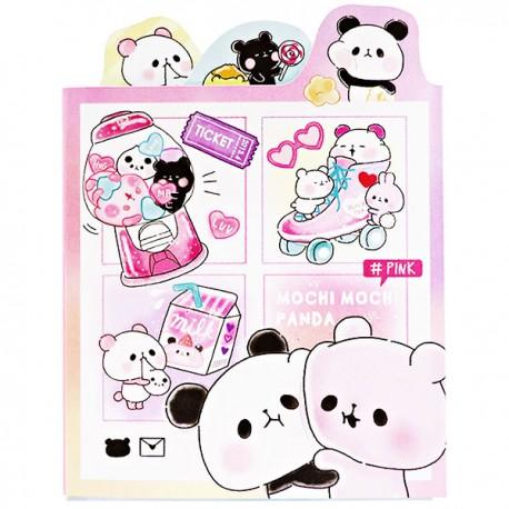 Libro Blocs Notas Mochi Panda Pink