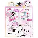Livro Blocos Notas Mochi Panda Pink
