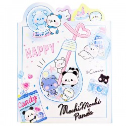 Mochi Panda Blue Memo Book