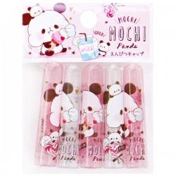 Tampas Lápis Mochi Panda & Penguin