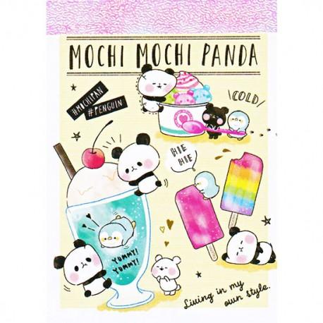 Mini Bloco Notas Mochi Panda & Penguin