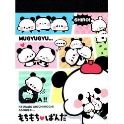 Bloco Notas Mochi Panda Shiro