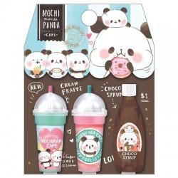 Mochi Panda Cafe Frappe Pencil Caps