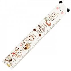 Mochi Panda Cafe Ruler