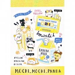 Mini Bloc Notas Mochi Panda Yellow