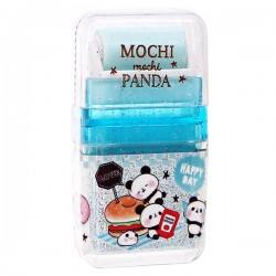 Borracha Apanha-Resíduos Mochi Panda Happy Day