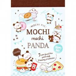 Mini Bloco Notas Mochi Panda Picnic