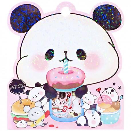 Saco Stickers Mochi Panda Picnic