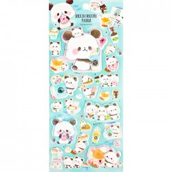 Mochi Panda Dreamy Puffy Stickers