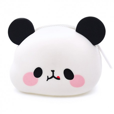Mochi Panda Die-Cut Coin Purse Gashapon