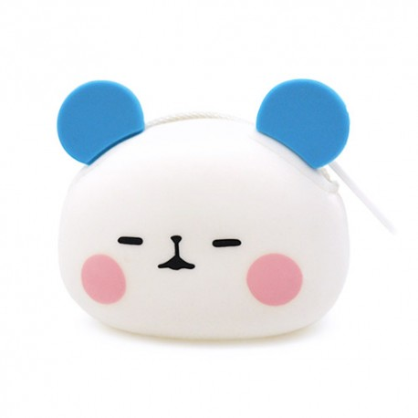 Monedero Die-Cut Mochi Panda Gashapon