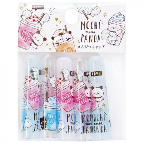 Mochi Panda & Penguin Dreamy Pencil Caps