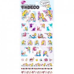 Stickers Deco Alice in Wonderland