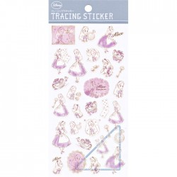 Alice in Wonderland Tracing Stickers