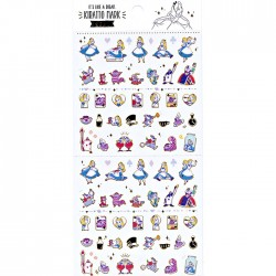 Alice in Wonderland Kiratto Mark Stickers
