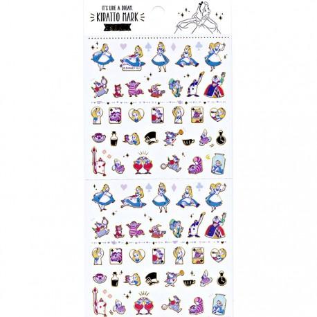 Alice in Wonderland Kiratto Mark Stickers