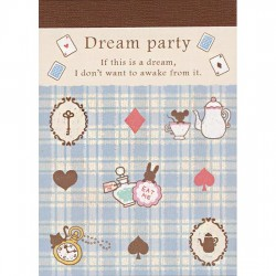 Mini Bloco Notas Dream Party