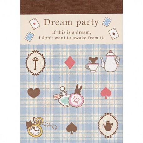 Mini Bloco Notas Dream Party