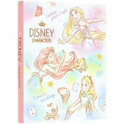 Prism Garden Disney Characters Sticky Notes Book