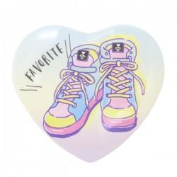 Crachá Coração Favorite Sneakers