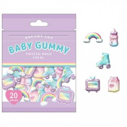 Saco Stickers Baby Gummy