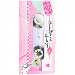 Libro Notas Adhesivas Cassette Tape