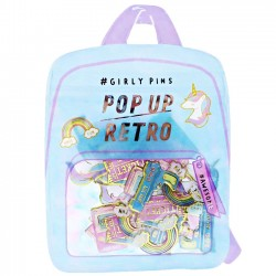 Pop Up Retro Have Fun Stickers Sack