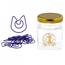 Sailor Moon Luna Paper Clips Jar